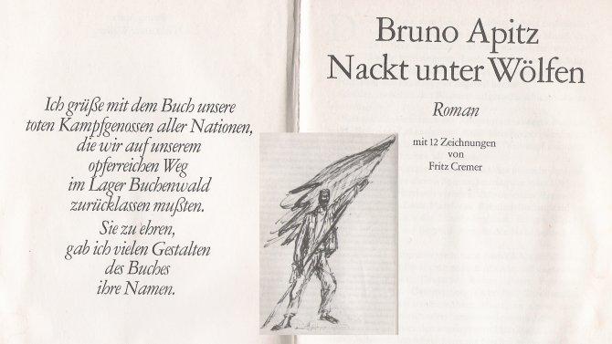 Nackt unter Wölfen, Bruno Apitz